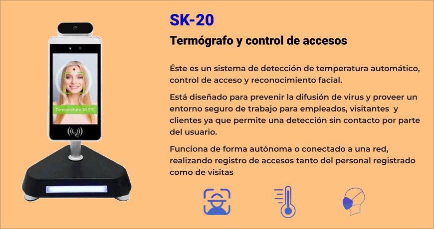 SK-20 Termógrafo